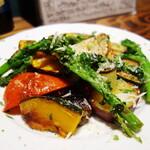 阿佐ヶ谷のイタリア料理ガッターロ - 焼き野菜の盛り合わせ