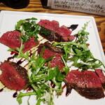 阿佐ヶ谷のイタリア料理ガッターロ - 蝦夷鹿の内もものグリル赤ワインソース