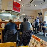 黒田屋の博多ちゃんぽん - 店内