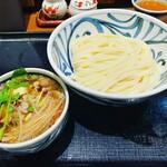 147369354 - オリーブ牛のつけ麺(冷)