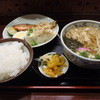 富サン - 料理写真:うどん定食 800円