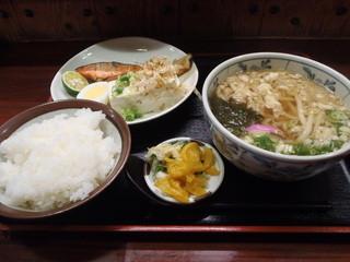 富サン - うどん定食 800円