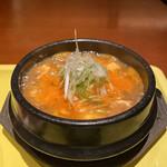 本格韓国料理 ハングルタイガー - 牛スジスンドゥブチゲ
