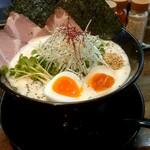 フカクサ製麺食堂 - 特製おさかな鶏白湯ラーメン1220円→850円