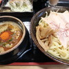 ラーメン庵 福一本陣 - 料理写真:本陣辛つけ麺です☆ 2021-0307訪問