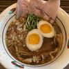 麺とカフェ処 悠然かしや - 料理写真:加賀の黒中華+半味玉 800円+50円