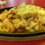 スパゲッ亭チャオ - チーズ焼スパ¥990
