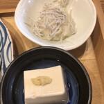 神保町魚金 弐 - 小鉢2点