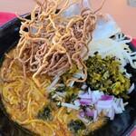 サワディー家 - カオソーイ卵麺