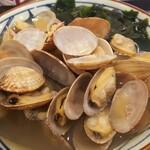 丸亀製麺 - アサリうどん
