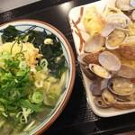 丸亀製麺 - お行儀の悪い食べ方笑笑