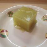 日本料理 松下 - 芋羊羹?