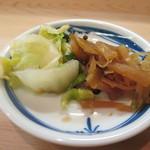 日本料理 松下 - 香の物
