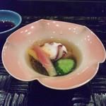 鉄板焼おおみ - 蛸の酢の物.JPG