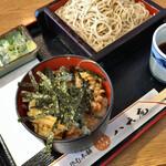 八天庵 - 料理写真:ミニ親子丼セット 650円