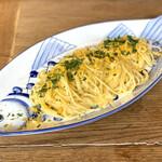 147384571 - ・本日のメイン料理                       (からすみのスパゲティ +660円、大盛り +550円)