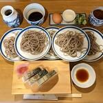 皿そば 渚庵 - 料理写真:鯖皿 1,590円