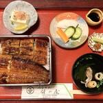 竹の屋 - 『うな重(松)』様(3500円)※税抜。