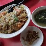 14739207 - 中華丼(スープ付):650円