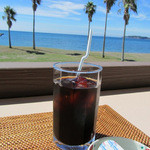 海辺のダイニング KUMFA - セットのアイスコーヒー