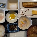 とびしま - 朝めし定食  500円+税 (温泉玉子は先着限定)