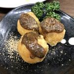 まるよし - 味噌ポテト