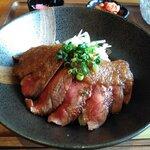 ろこん - 料理写真:和牛ステーキ丼