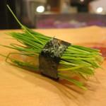 寿司 う月 - めねぎ