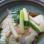 和食の家レンゲ - 白身魚のアラ炊き