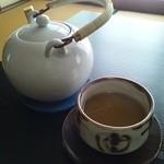 和食の家レンゲ - ほうじ茶