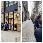 エシレ・メゾン デュ ブール - 外観  開店10分前の隊列です‼︎ 朝から丸の内は熱いのです!!