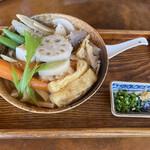 野口製麺所 - 料理写真:しっぽくうどん