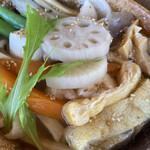 野口製麺所 - しっぽくうどん