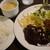 煉瓦亭 - 料理写真:牡蠣フライ & 小 ハンバーグ 1,450円