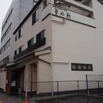 菊水鮓 - お店の建物