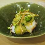 菊水鮓 - 蛸のサラダ仕立て