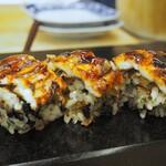 菊水鮓 - 穴子棒寿司