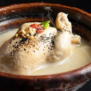 『参鶏湯』へのこだわり!
