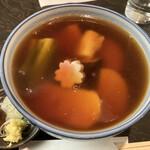 茅場町 長寿庵 - あんかけ蕎麦
