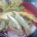 ゆで太郎 - 揚げたての野菜天ぷら
