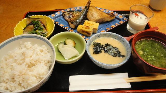 銀座 熊さわ - 焼魚定食(990円)