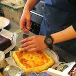 ザ バーガー ショップ - チーズケーキそのままください!