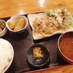 nidaimekaisensakabahamakaze - オール肉ランチ500円