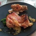 Bistro guccho - 鶏モモ肉のハーブロティとコンフィ