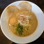 麺屋28 - 令和3年3月 ラーメン煮卵トッピング 900円