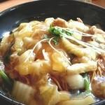 味の民芸 - 料理写真:民芸皿うどん      2012.9