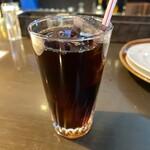 tamaya - 付属のアイスコーヒー