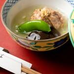 歳時鹿火 - コース料理煮物