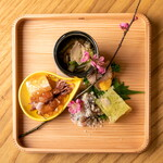 歳時鹿火 - コース料理前菜