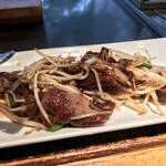 岡半 - ふわふわの肉